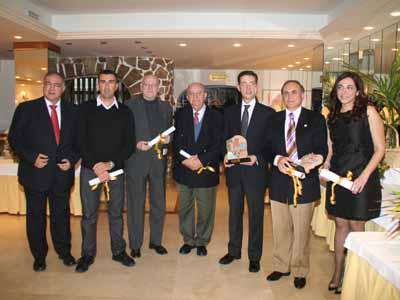 Los premiados por la AAPET en la edición 2008